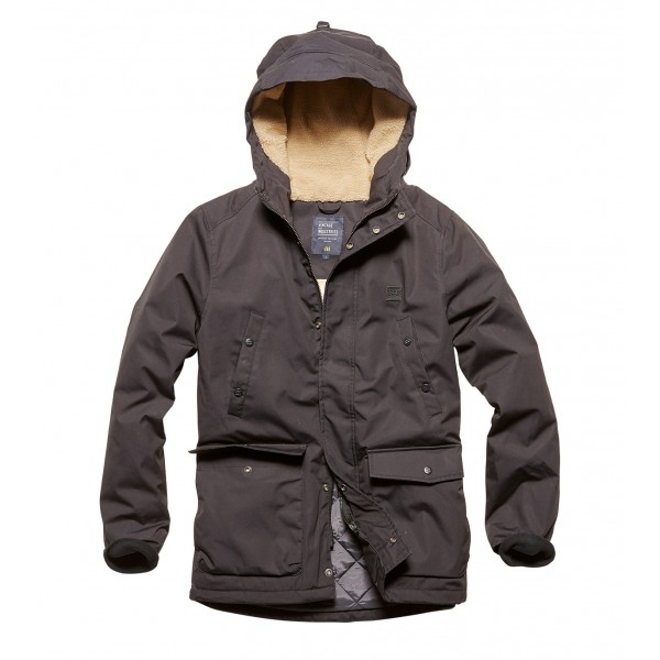 Army Awesome Skinner Parka Black