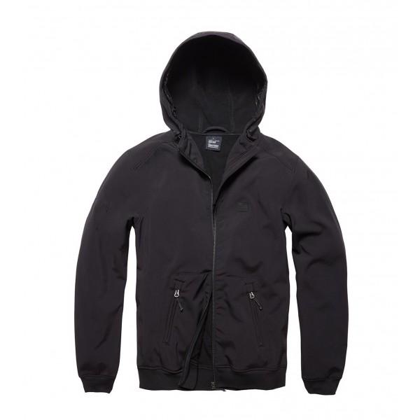 Army Vintage Sofshell Jacket Black