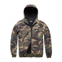 Army Vintage Sofshell Jacket Woodland
