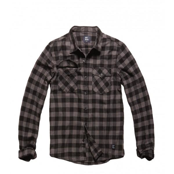 Vintage Shirt Grey Check