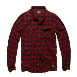 Army Vintage Shirt Red Check