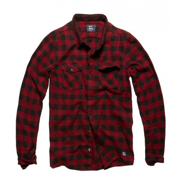 Vintage Shirt Red Check