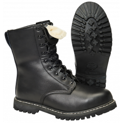 Army Boots with warm Lining