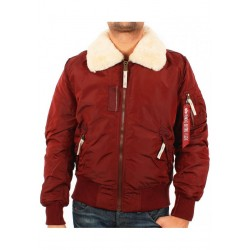 Alpha Industries Injector Burgundy