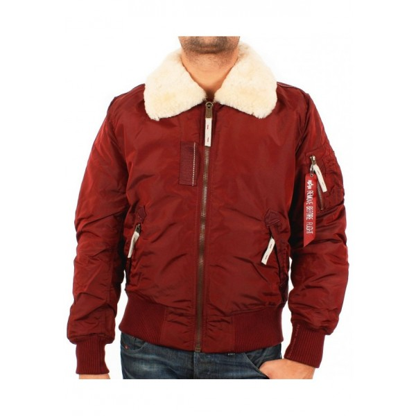 Alpha Industries Injector Bordeaux Rood