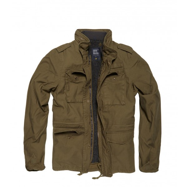 Army A-Level Parka Olive