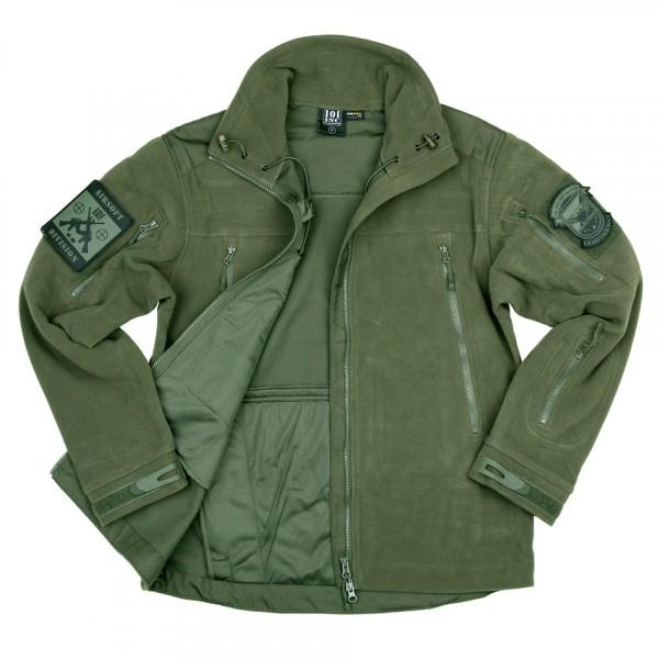Heavy Duty Fleece Vest Olive