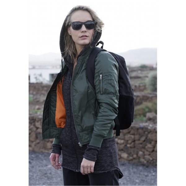 Urban Classics Ladies Bomber Green