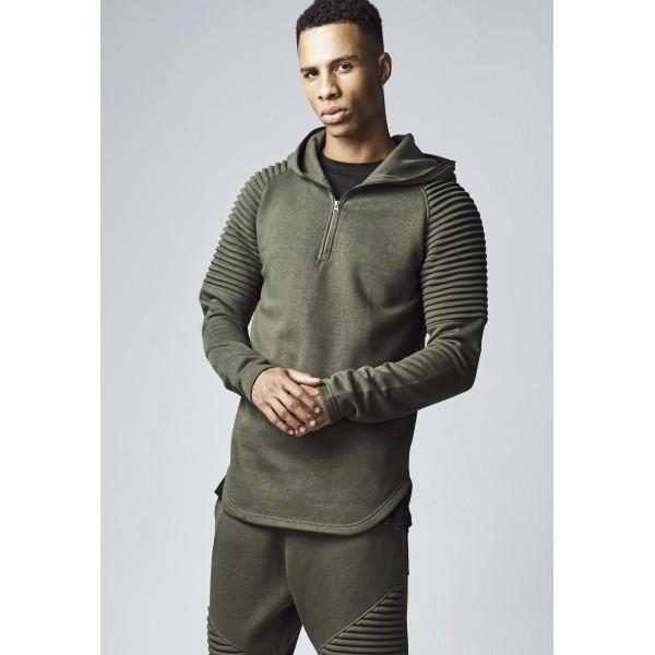 Urban Classics Sweater Pleat Olive