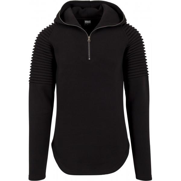 Urban Classics Sweater Pleat Black