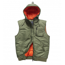 Army Awesome Smith Bodywarmer Olive Sage