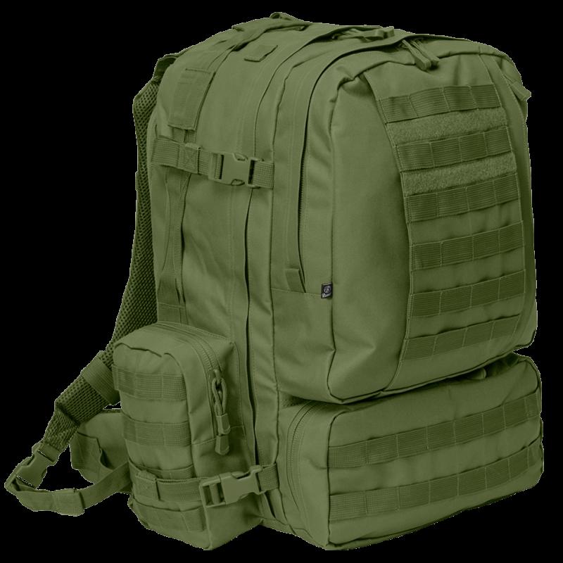 64d8f8366fe4 3 Days Molle Backpack Olive 50 Liter