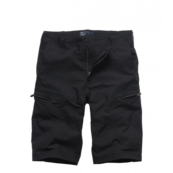 Beltana Stretch Technical Short Black