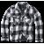 Lumberjacket White Black