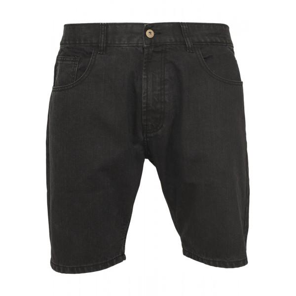 Urban Classics Casual Denim Shorts Black Coated