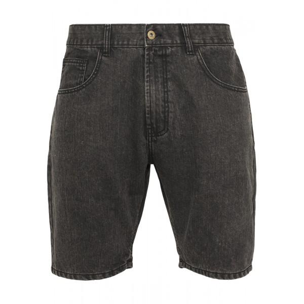 Urban Classics Casual Denim Shorts Black Denim