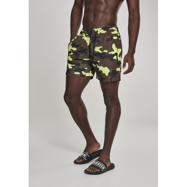 Camo Swim Shorts Frozenyellow Camo