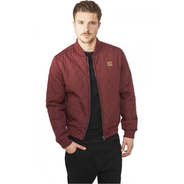 Urban Classics Diamond Burgundy