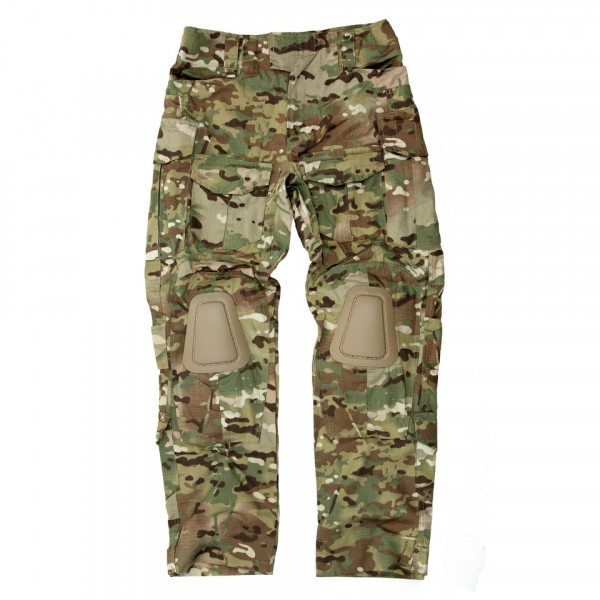 Tactical Broek Warrior Multcamo