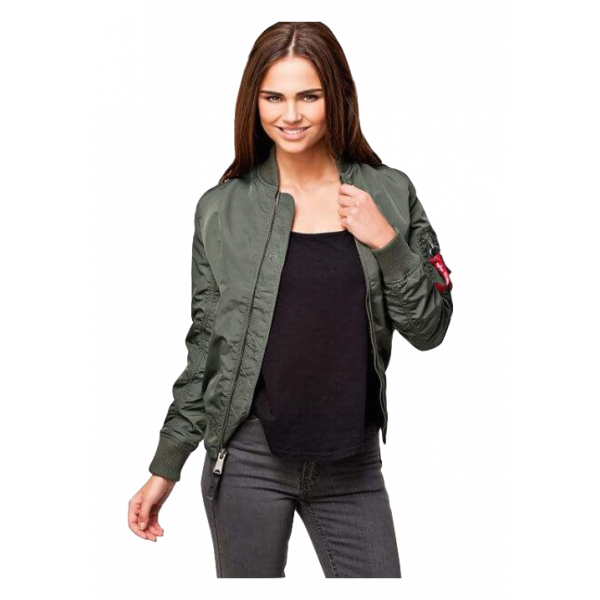 Alpha Industries MA-1 TT Women Sage Groen