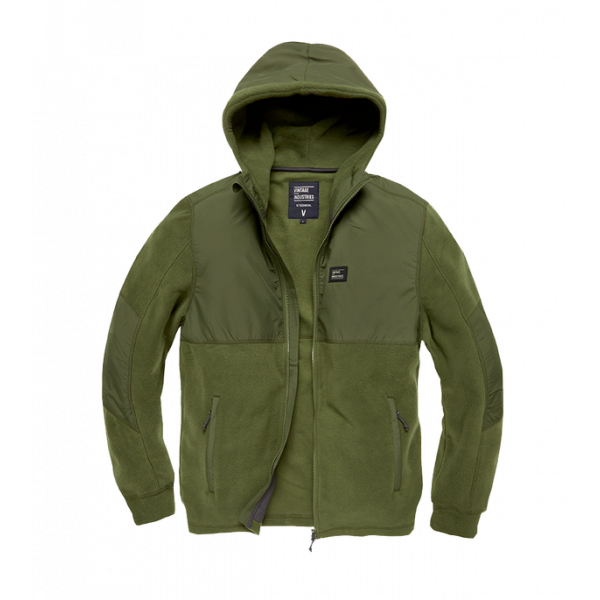 Army Andell Fleece Vest Olive