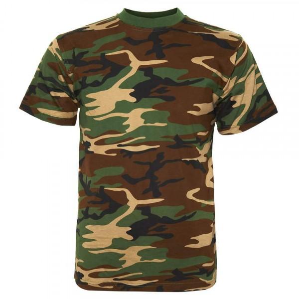 Camo Shirt Woodland