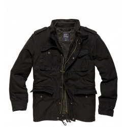 Army A-Level Vintage Parka Black