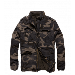 Army  A-Level Vintage Parka Dark Camo