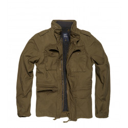 Army A-Level Vintage Parka Olive Sage