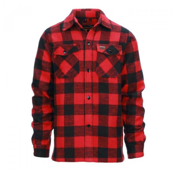 Houthakkershemd Rood