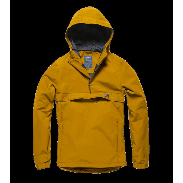 Army Vintage  Waterproof Anorak Yellow