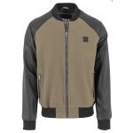 Urban Classics Cotton-Leather Bomber