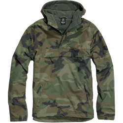Army Brandit Windbreaker Woodland