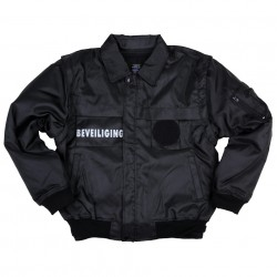 Security Jacket with Zip Sleeves